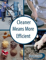 Dustcontrol cleaner is more efficent brochure