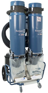 DC 3900c twin dust extractor