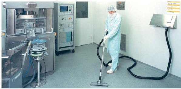 Clean room general cleaning system